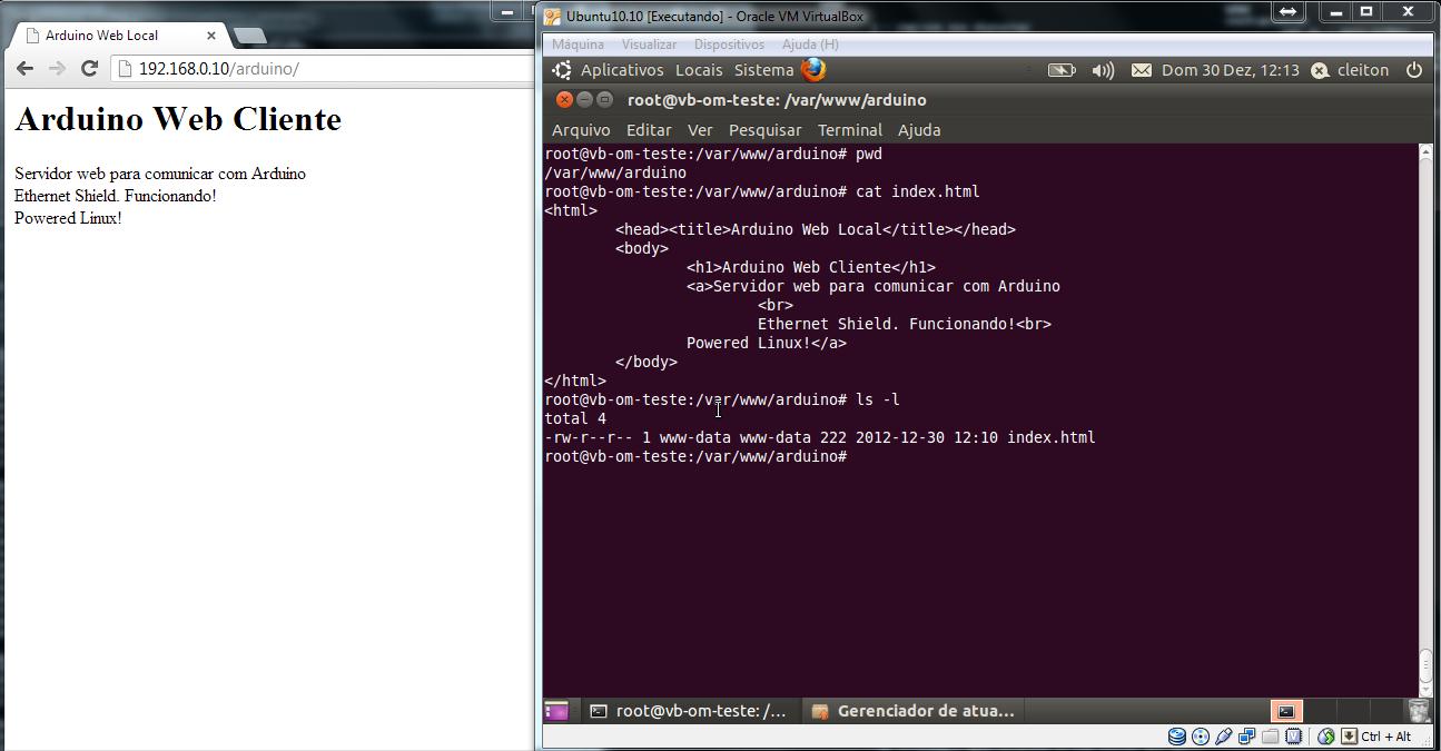 LinuxServerWebPrimeiraPagina
