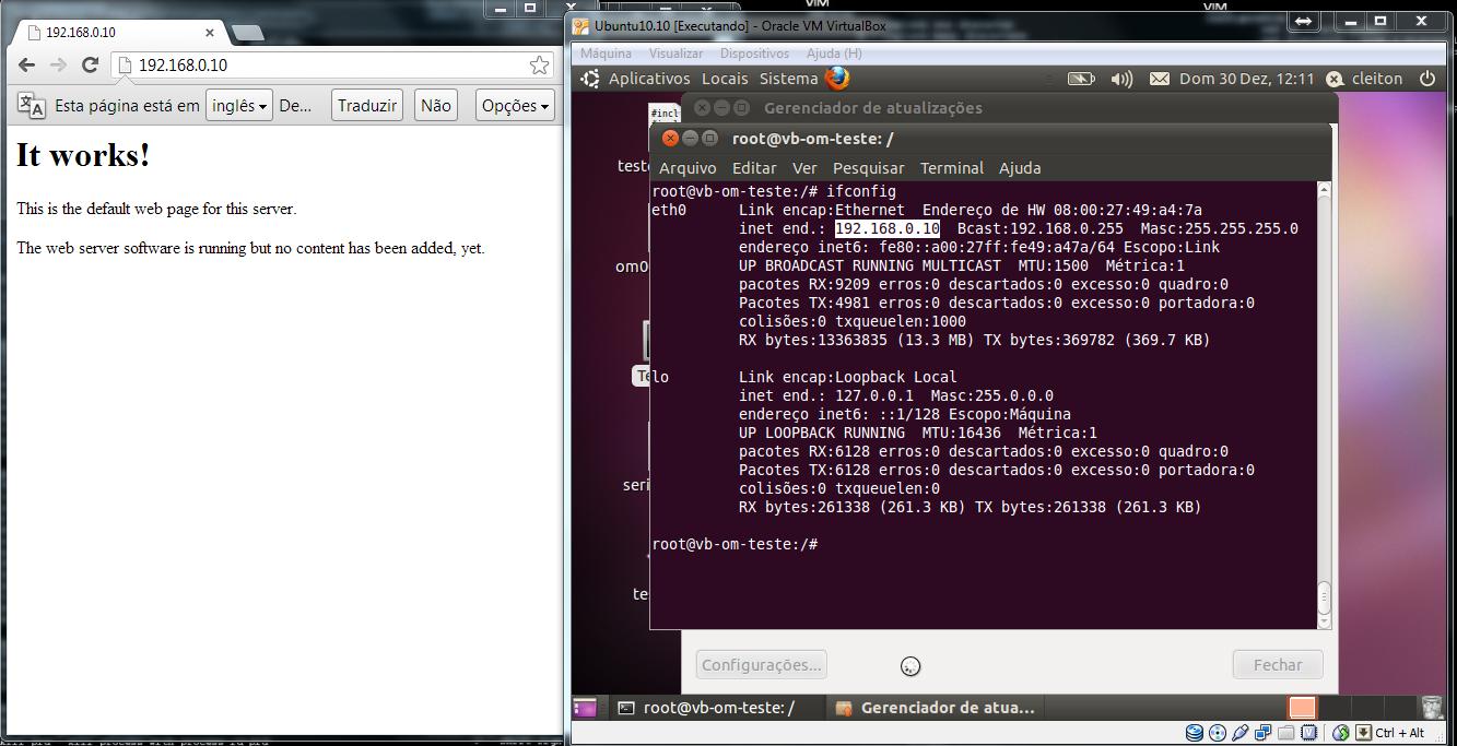 LinuxTestandoServidorWeb