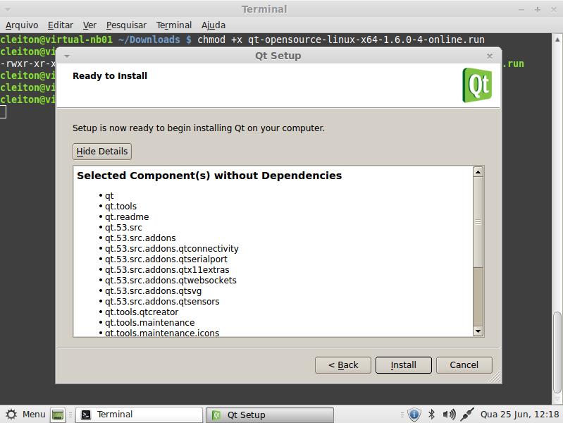Qt5 - Instalação em ambiente Linux - Cleiton Bueno
